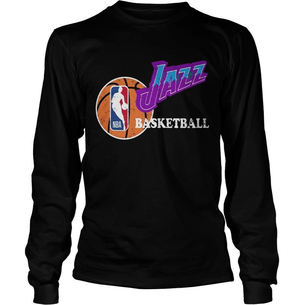 Vintage Jazz Basketball Nba Longsleeve