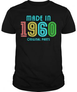 Vintage Made In 1960 Original Parts Shirt