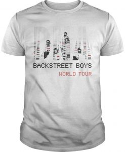 World Tour Backstreet Boys Shirt