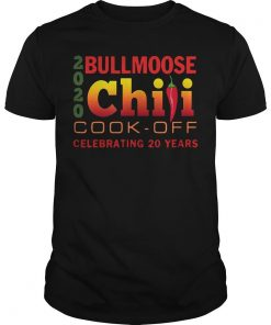2020 Bullmoose Chili Cook Off Celebrating 20 Years Shirt