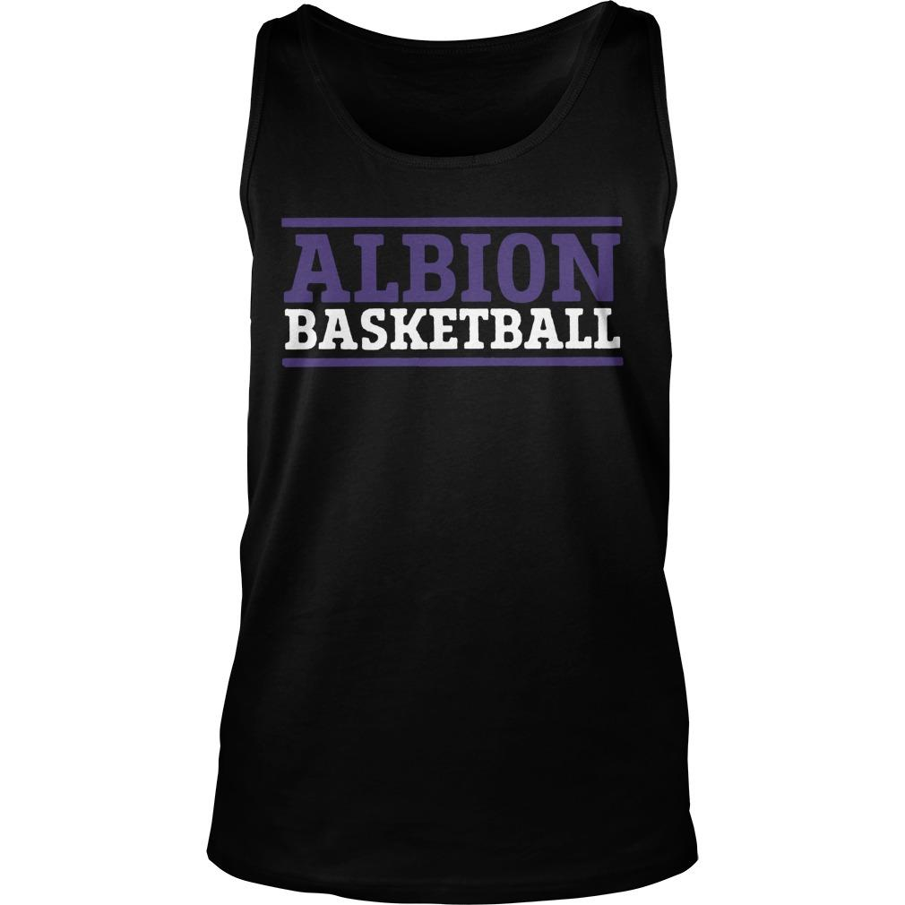 Albion Basketball Tank Top