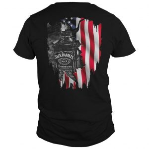 America Flag Jack Daniel's Old No 7 Tennessee Shirt