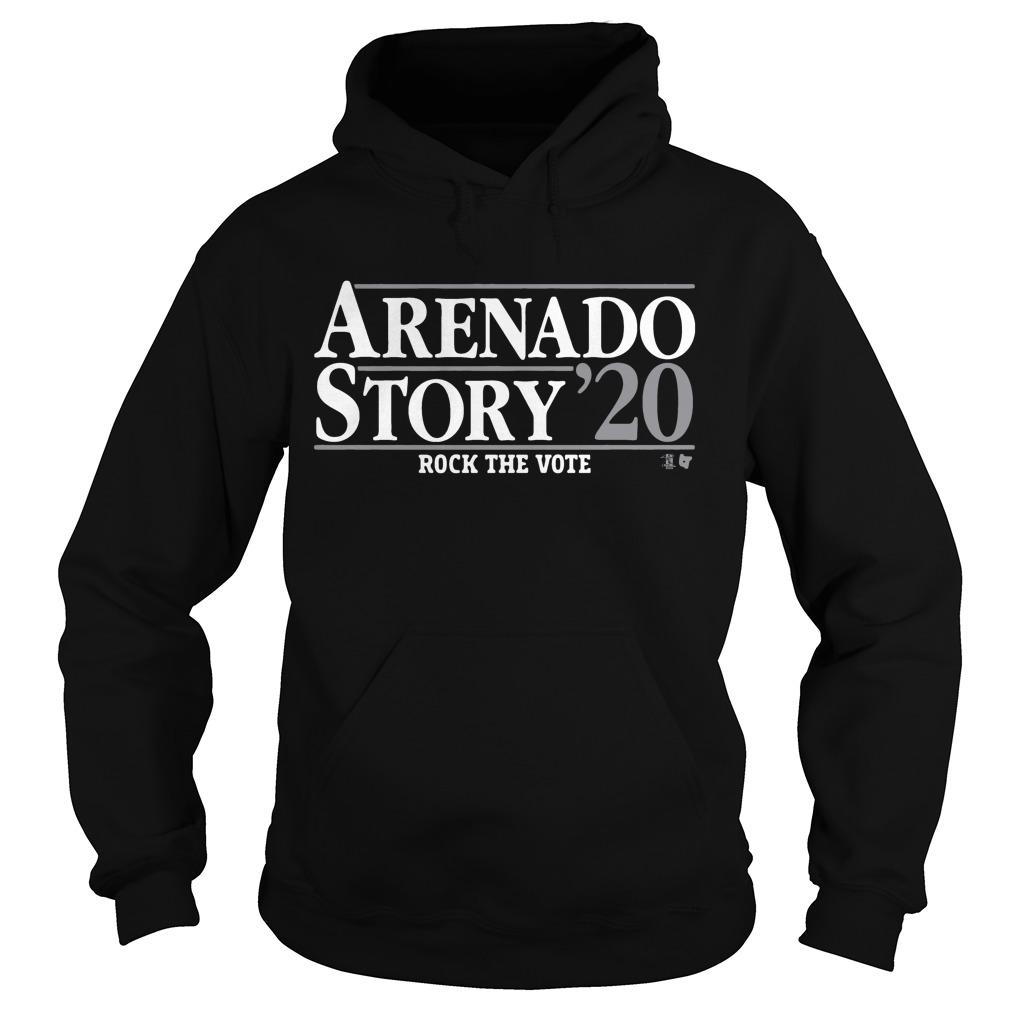 Arenado Story 20 Rock The Vote Hoodie