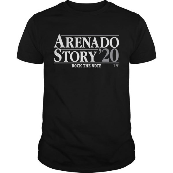Arenado Story 20 Rock The Vote Shirt