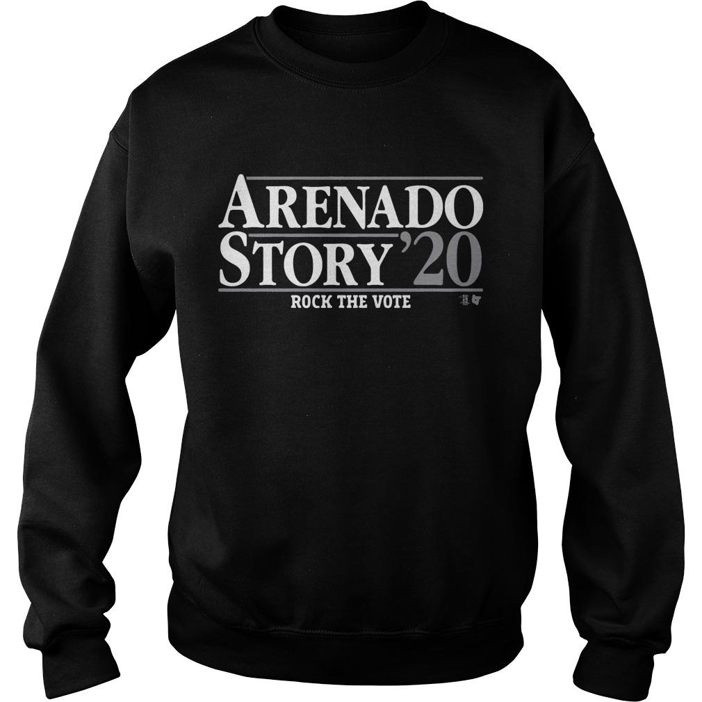 Arenado Story 20 Rock The Vote Sweater