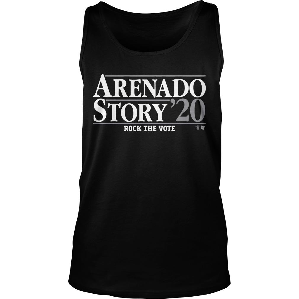 Arenado Story 20 Rock The Vote Tank Top