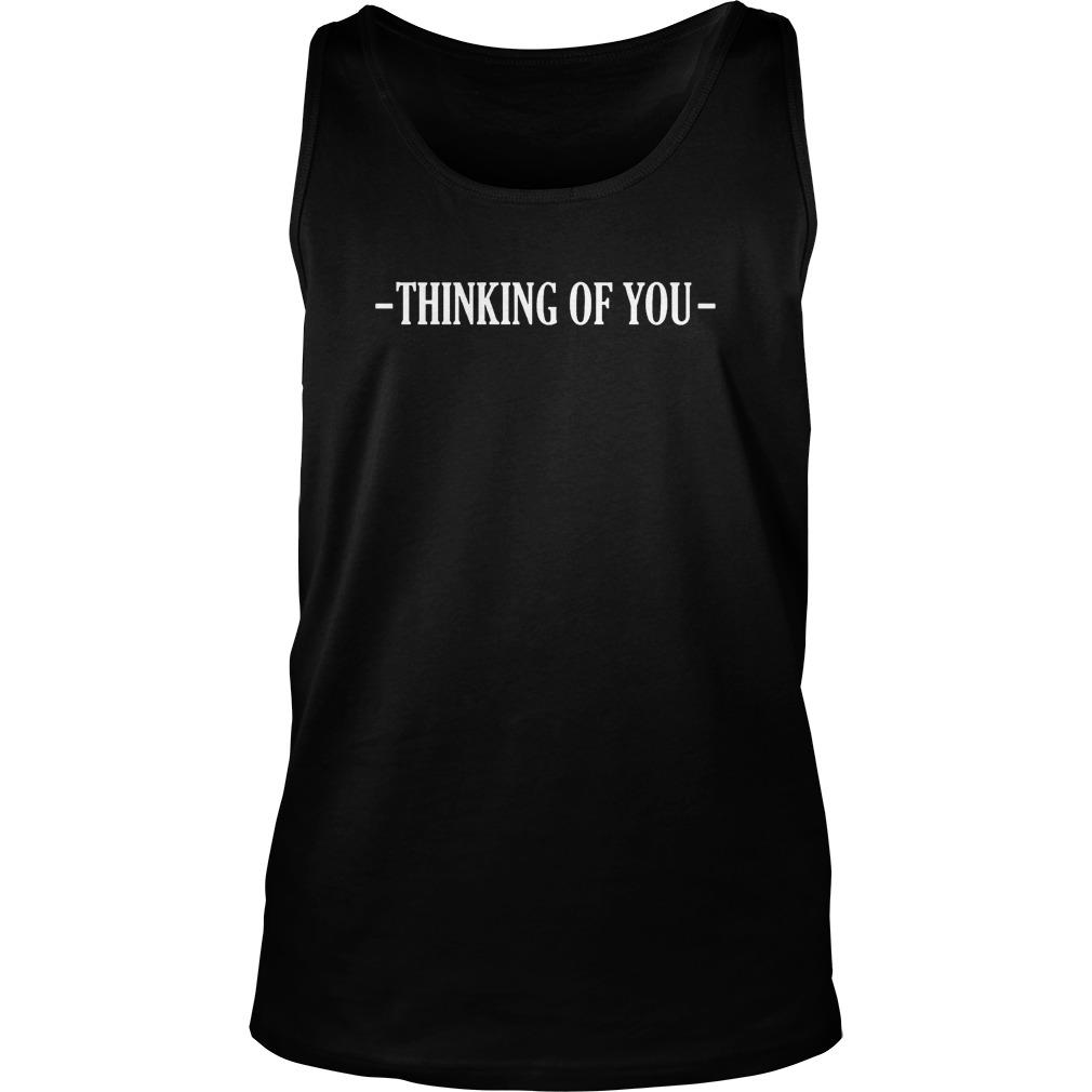Asim Riaz Thinking Of You Tank Top