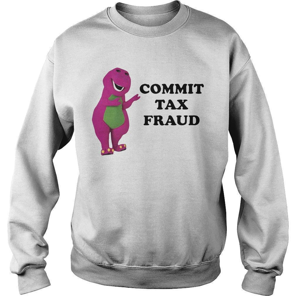 Barney Commit Tax Fraud Sweater