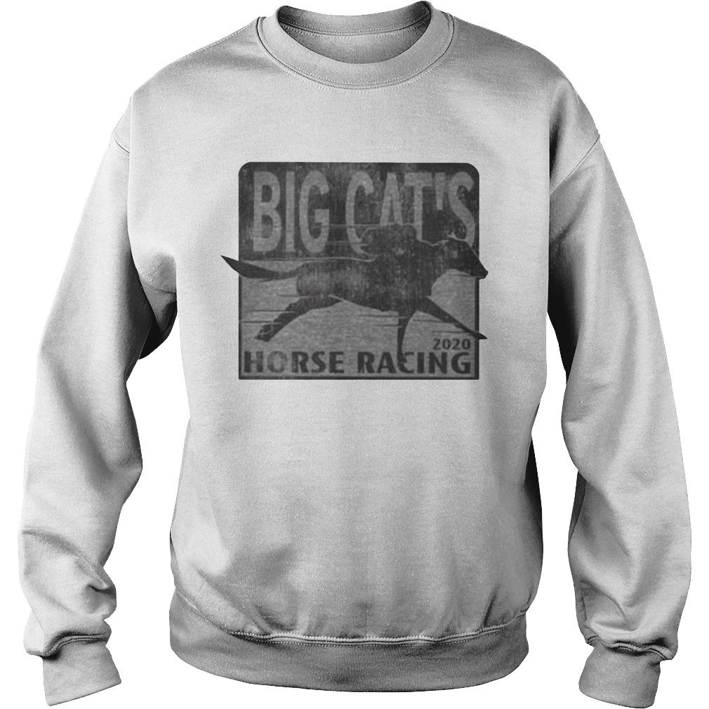 Big Cat's Horse Racing Sweater
