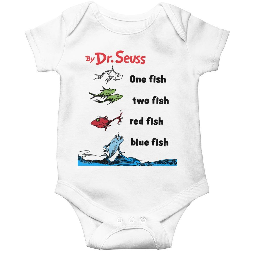 By Dr Seuss One Fish Two Fish Longsleeve
