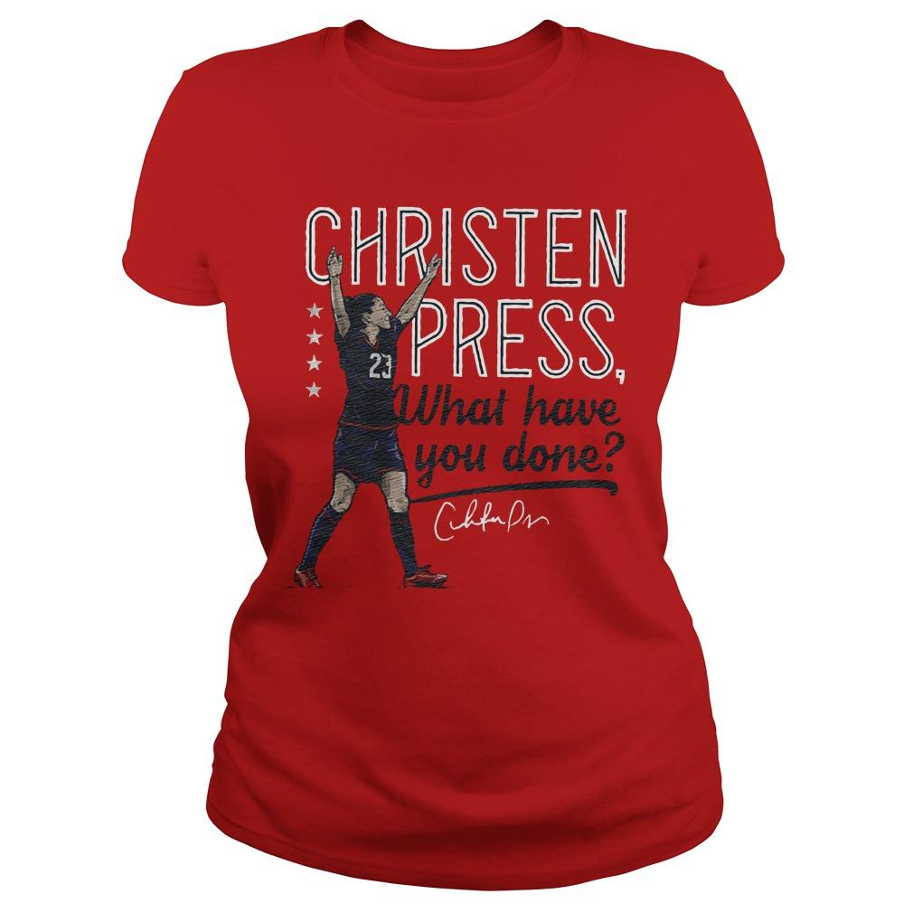 Christen Press What Have You Done Longsleeve