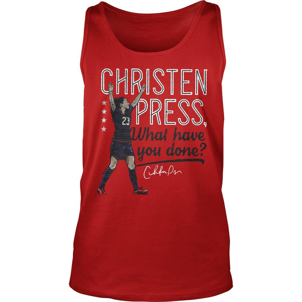 Christen Press What Have You Done Tank Top