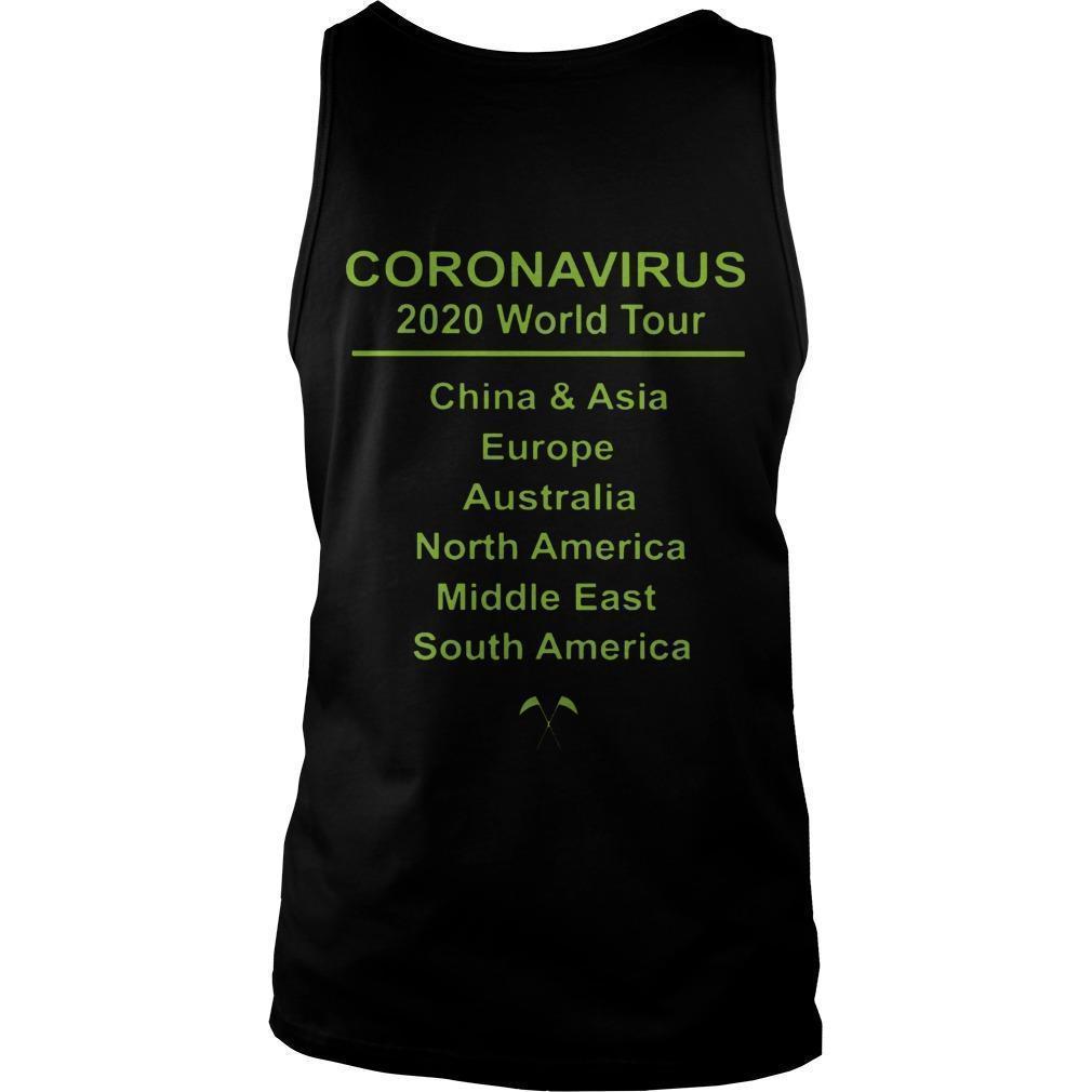 Coronavirus World Tour Tank Top