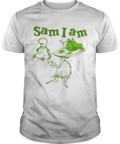Dr Seuss Sam I Am Green Eggs And Ham Shirt
