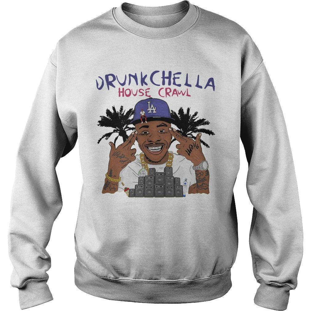 Drunk Chella House Crawl La Sweater
