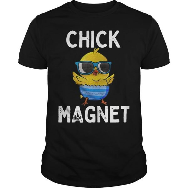 Easter Chicken Chick Magnet Shirt