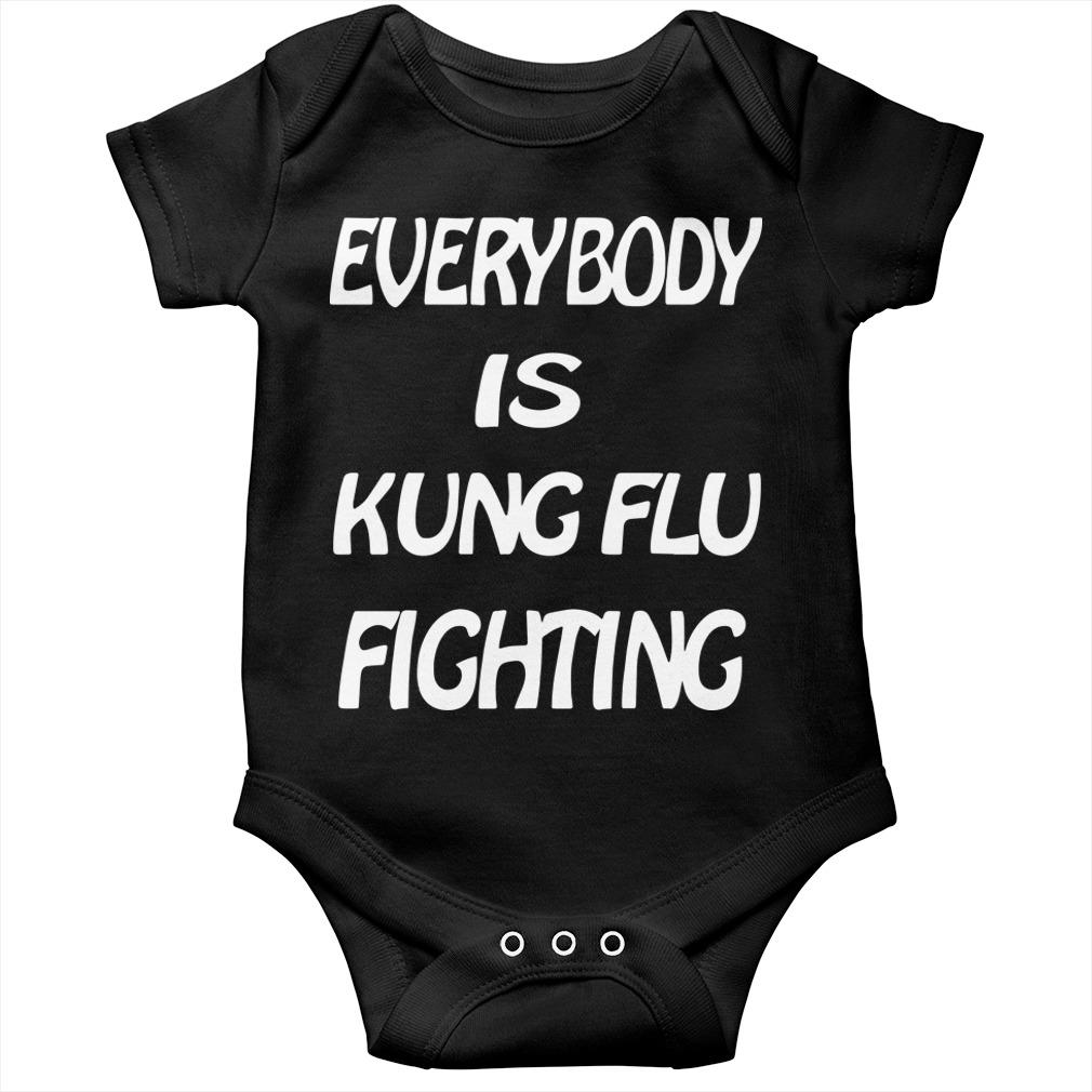 Everybody Is Kung Flu Fighting Longsleeve