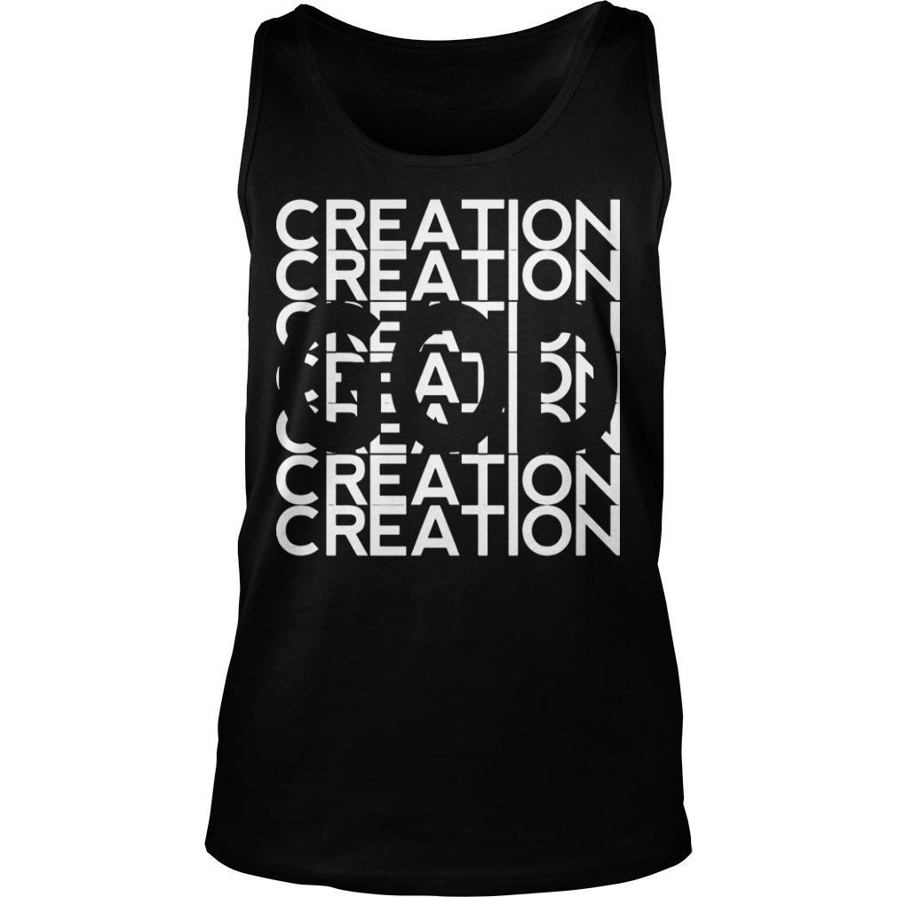 God In Creation Tank Top