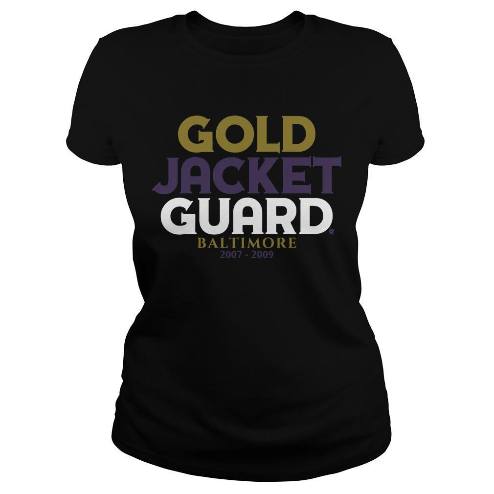 Gold Jacket Guard Baltimore 2007 2019 Longsleeve