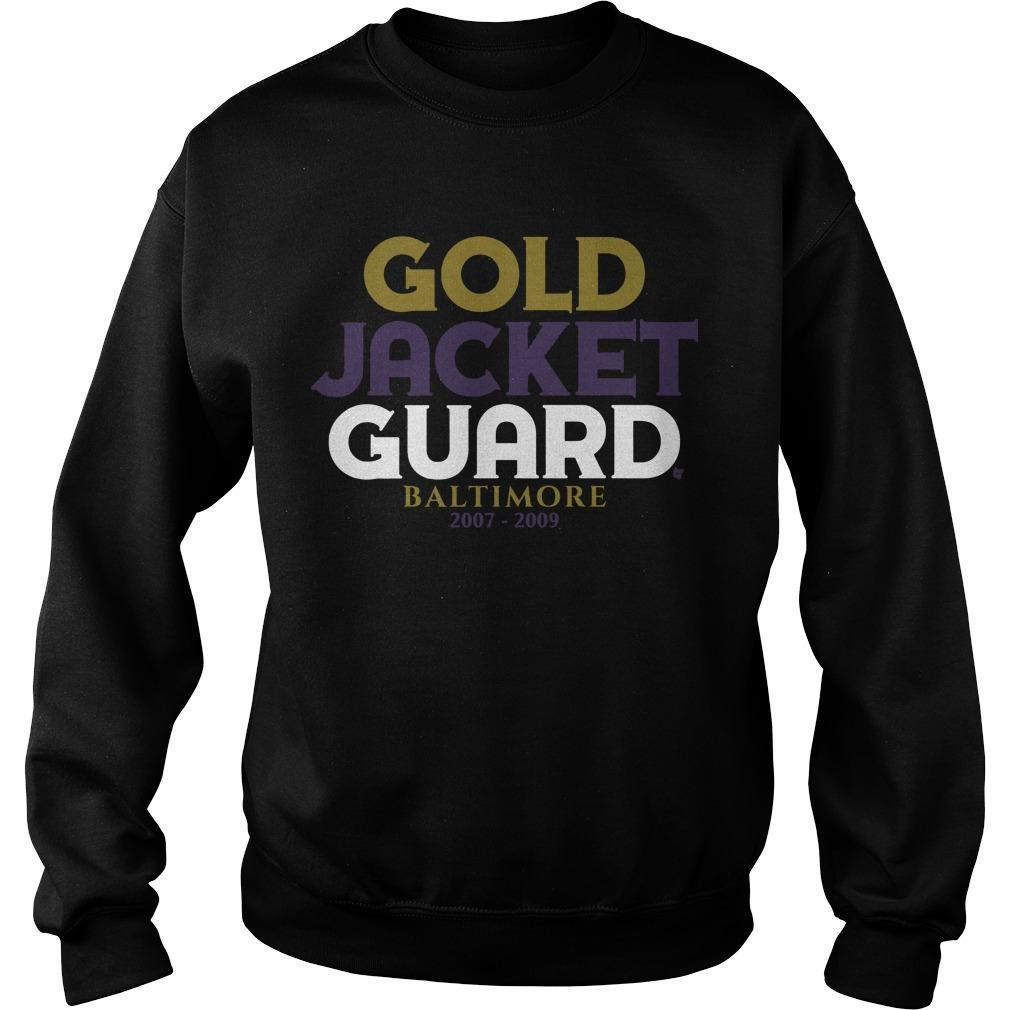 Gold Jacket Guard Baltimore 2007 2019 Sweater