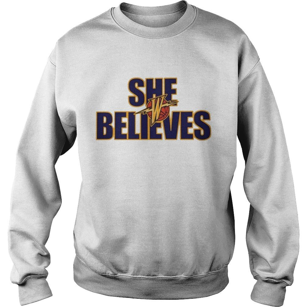 Golden State Warriors She Believes Sweater