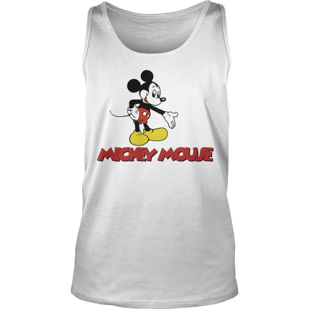 Harry Styles Mickey Mouse Tank Top