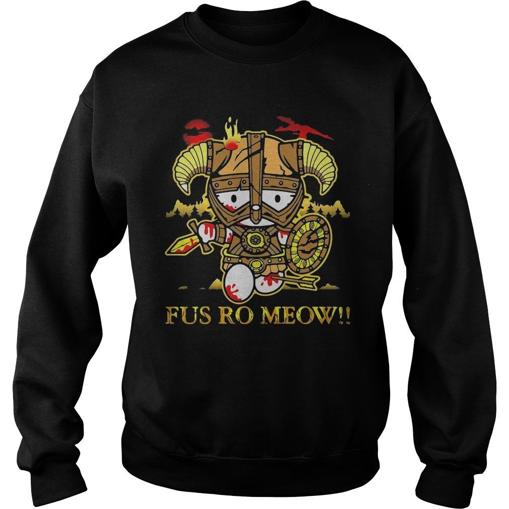Hello Kitty Fus Ro Meow Sweater