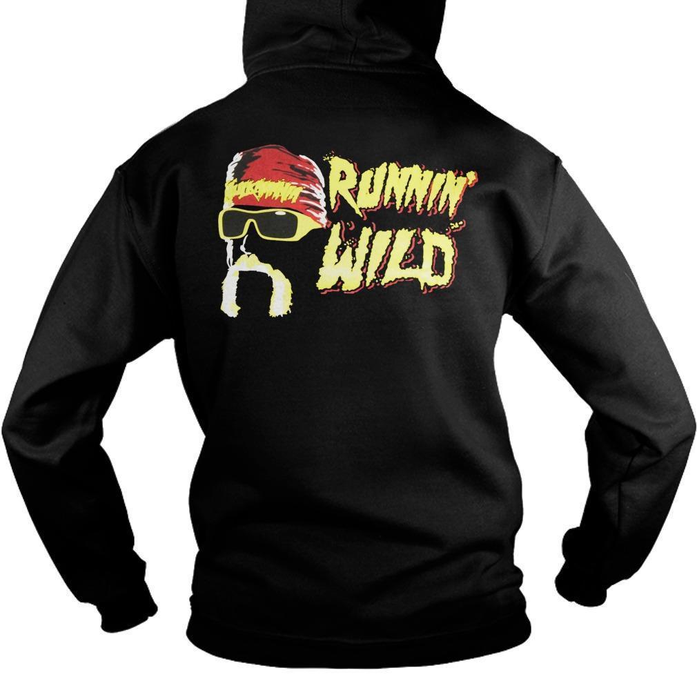 Hulk Hogan Hulkamania Est 1984 Runnin' Wild Hoodie