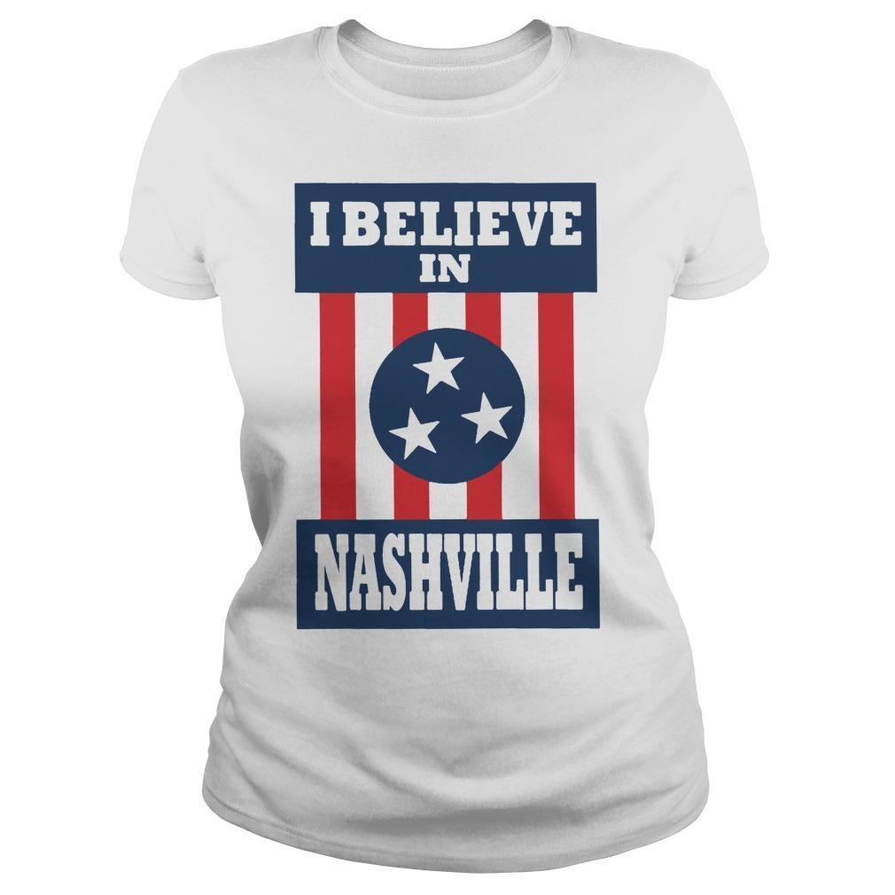 I Believe In Nashville Tornado Longsleeve