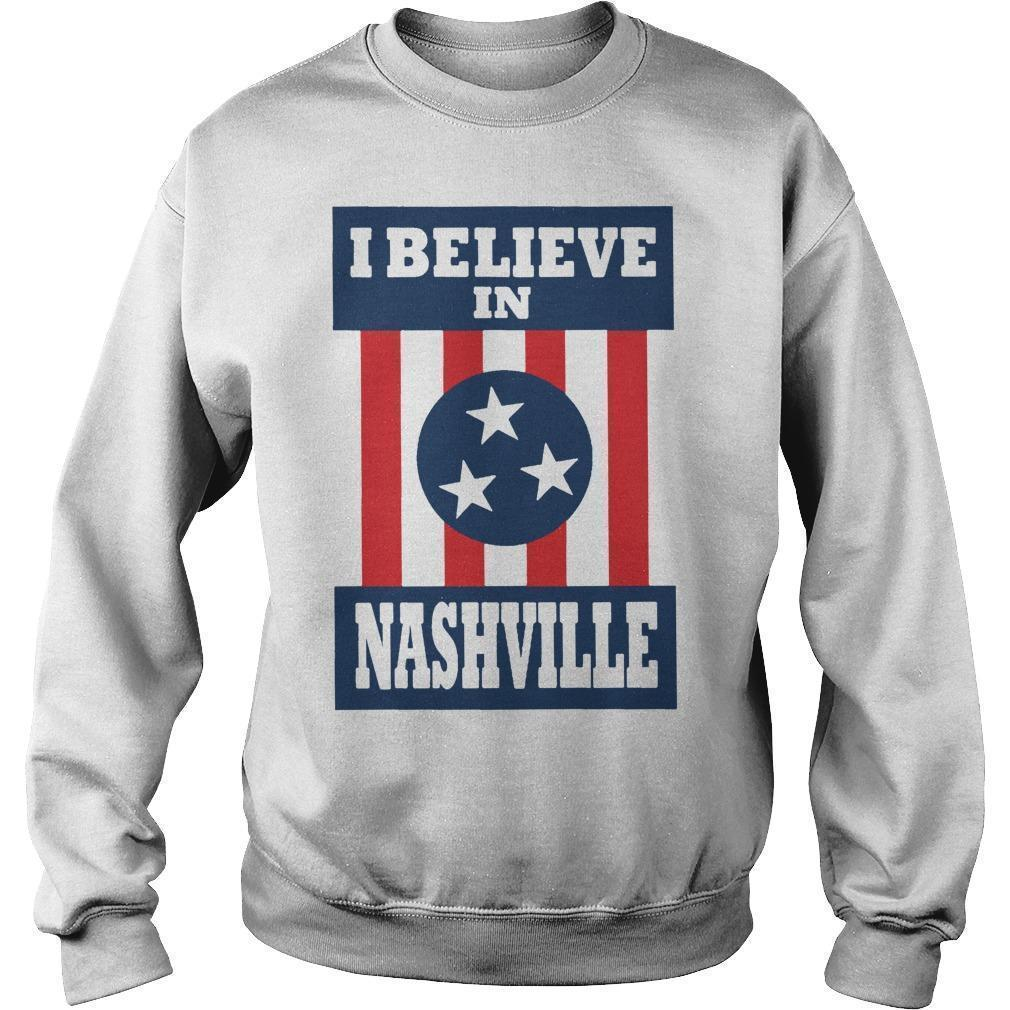 I Believe In Nashville Tornado Sweater