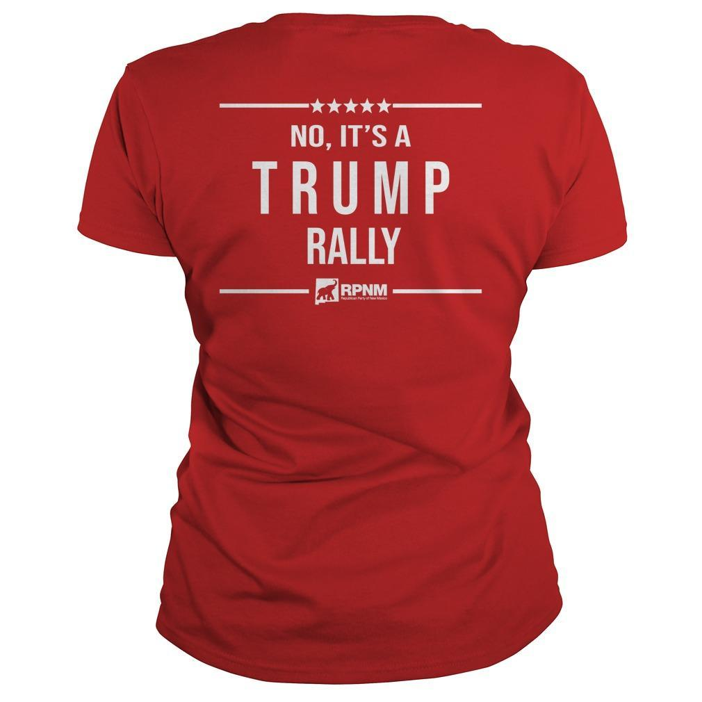 Is This Heaven No It's A Trump Rally Longsleeve