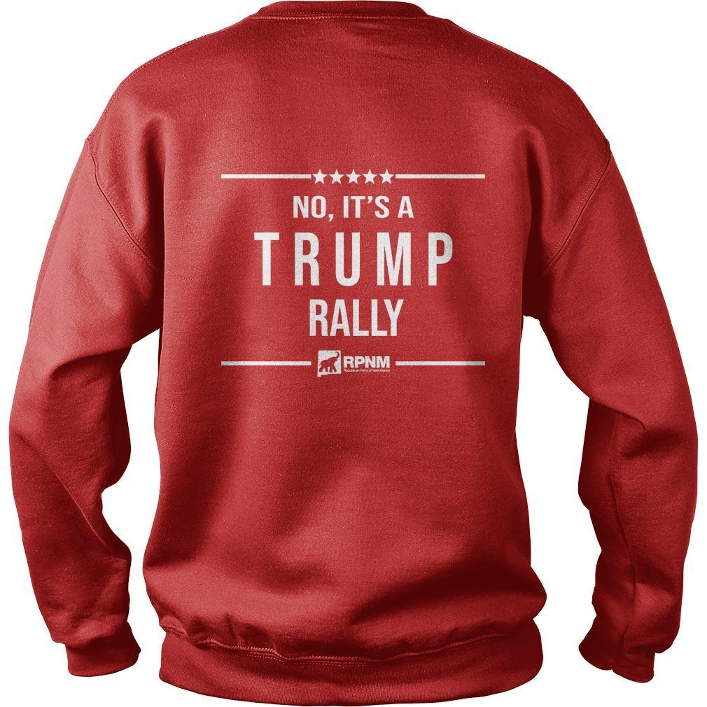 Is This Heaven No It's A Trump Rally Sweater