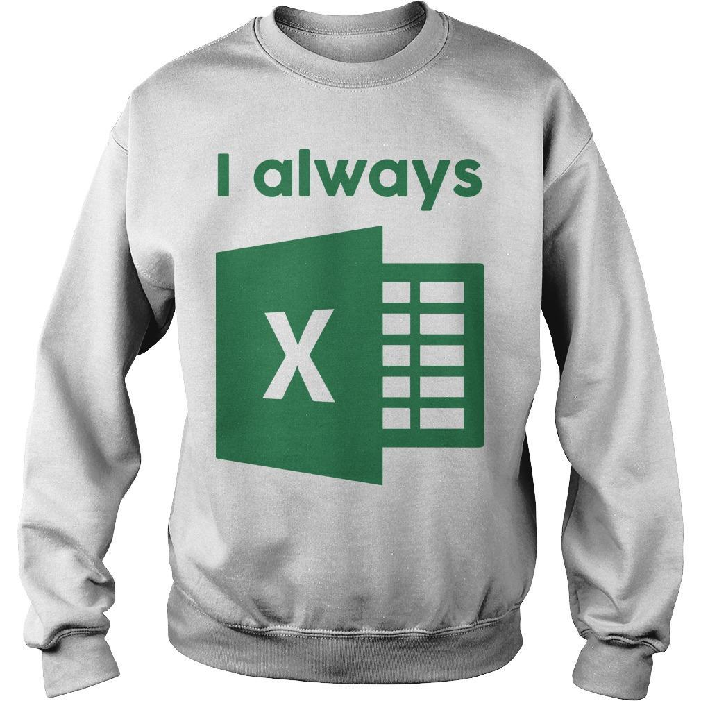 Jacqui Collins I Always Excel Sweater