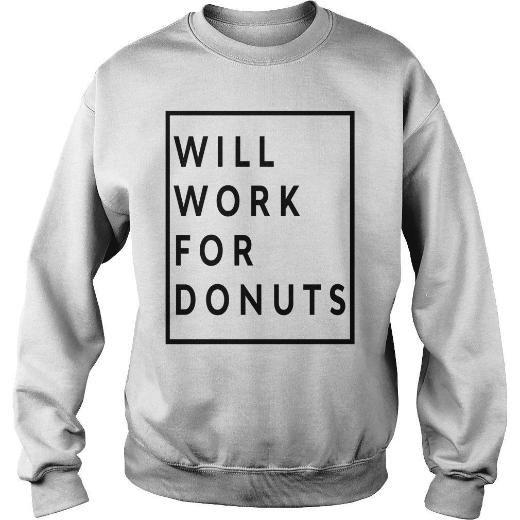 Jeb Bush Will Work For Donuts Sweater