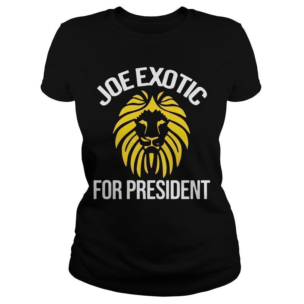 Joe Exotic For President Longsleeve