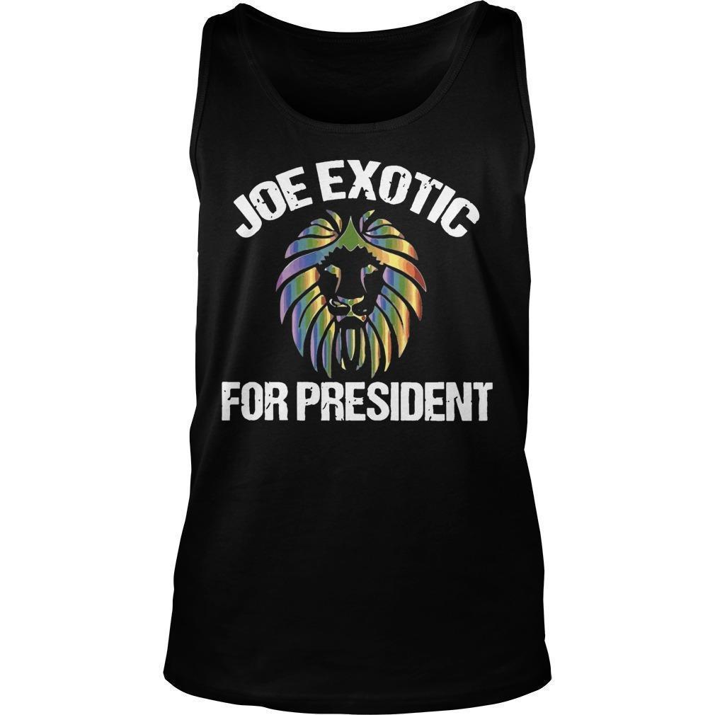 Joe Exotic Tank Top