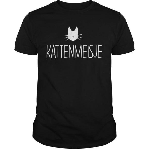 Kattenmeisje Shirt