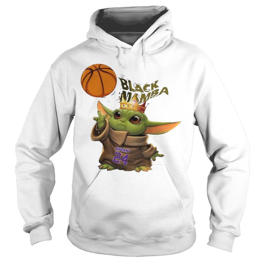 King Baby Yoda Black Mamba Bryant 24 Hoodie