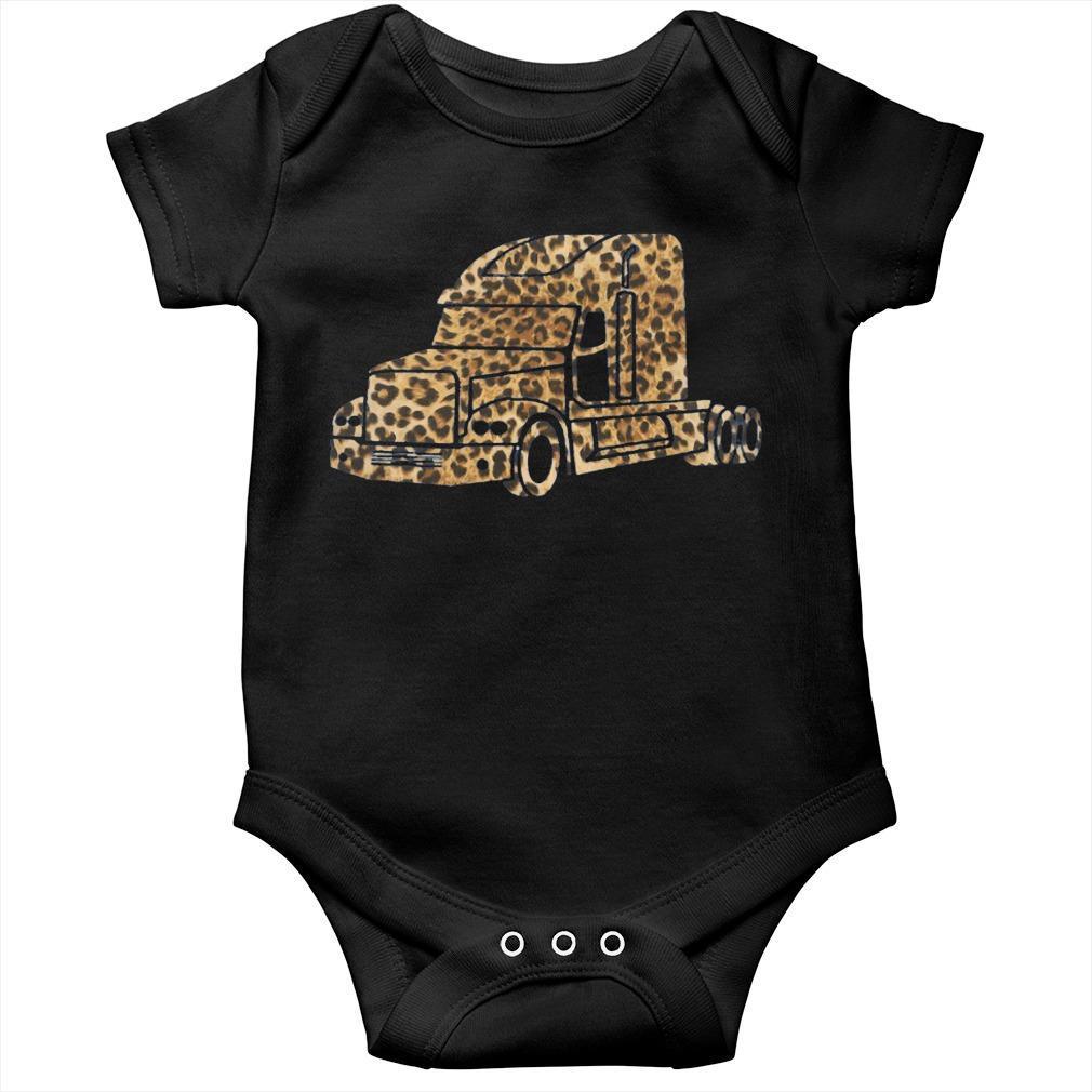 Leopard Print Truck Longsleeve