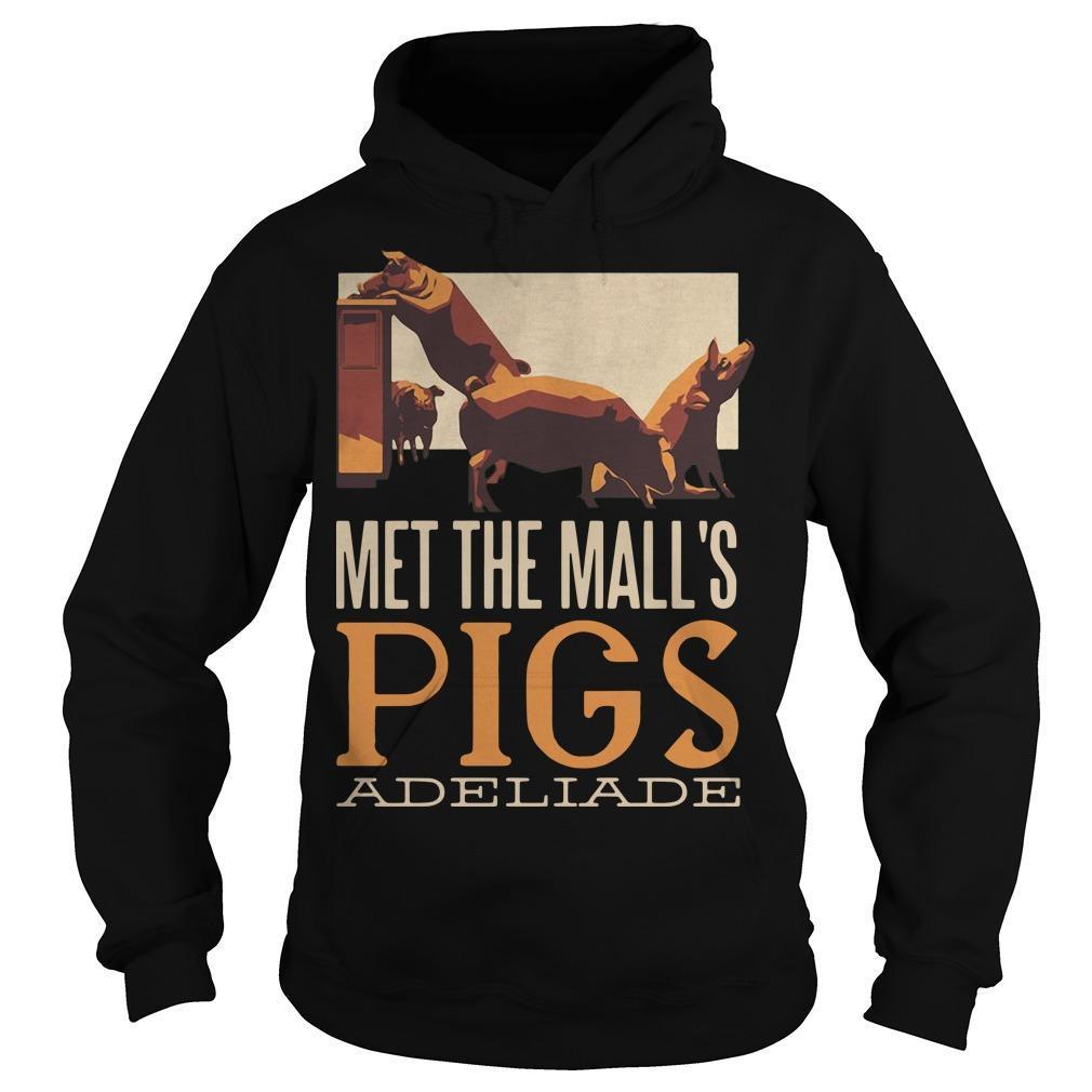 Met The Mall's Pigs Adeliade Hoodie
