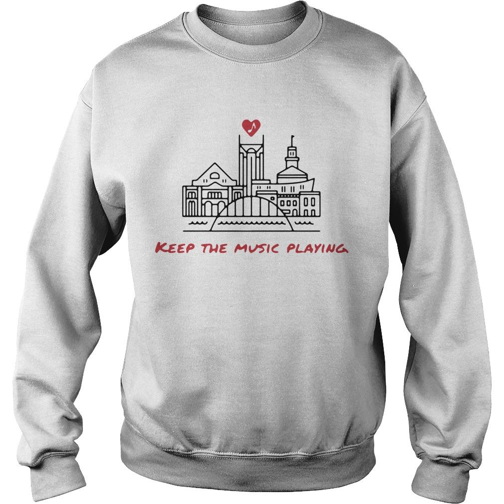 Nashville Keep The Music Playing Sweater