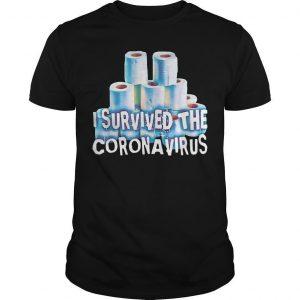 Ncov 19 I Survived The Coronavirus T Shirt