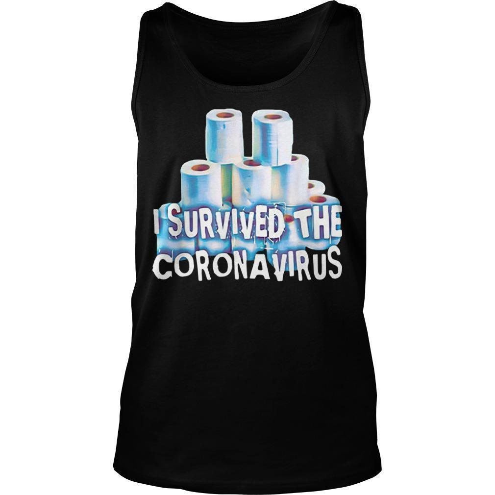 Ncov 19 I Survived The Coronavirus T Tank Top