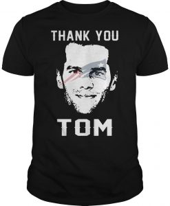 New England Patriots Thank You Tom Brady Shirt