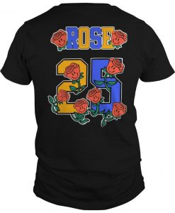 Not Done Yet Rose 25 Shirt