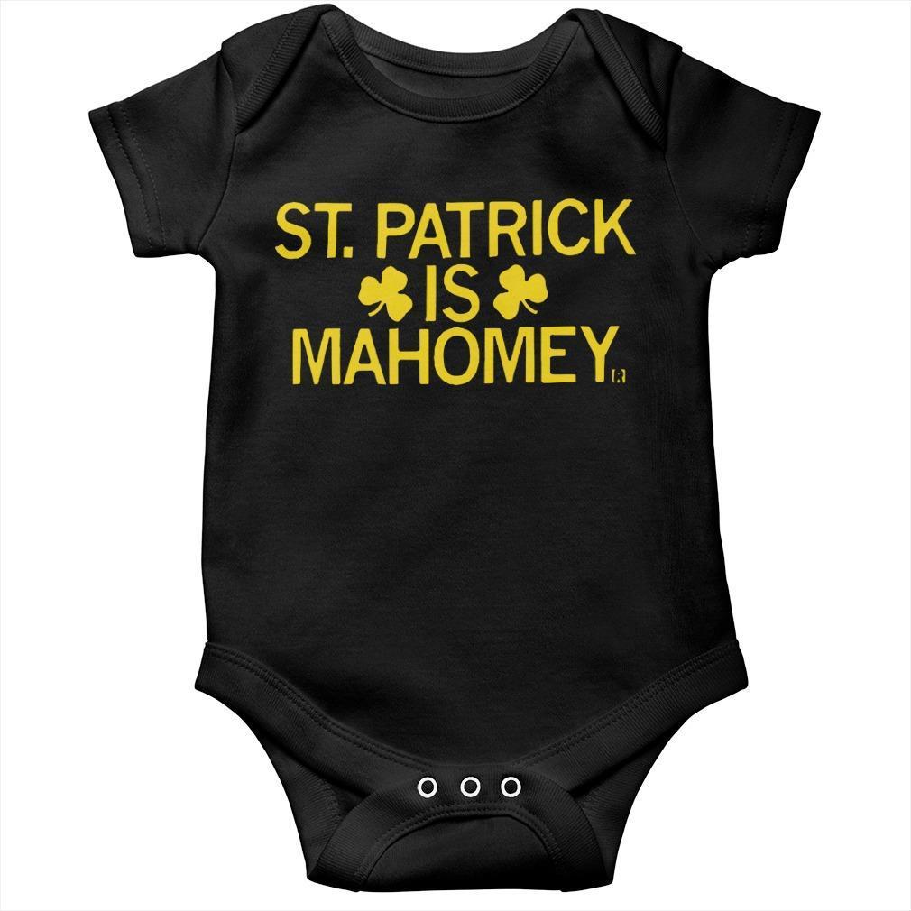 Patrick Mahomes St Patrick Is Mahomey Longsleeve