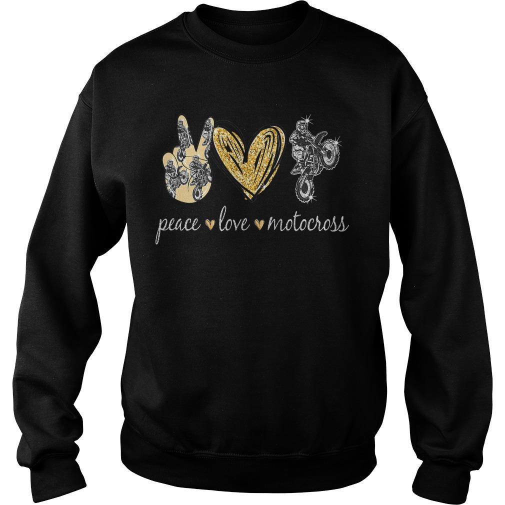 Peace Love Motocross Sweater