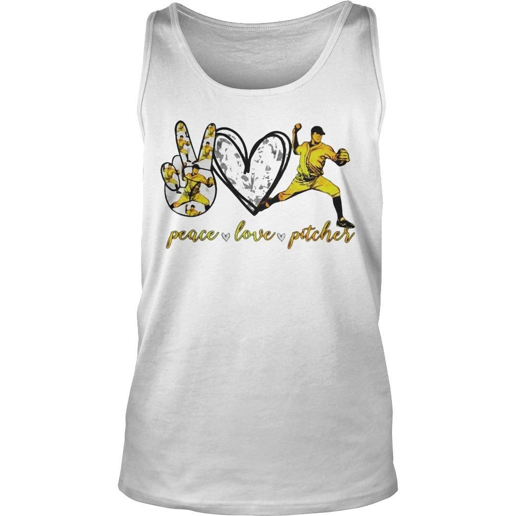 Peace Love Pitcher Tank Top
