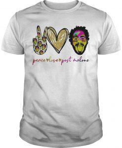Peace Love Post Malone T Shirt