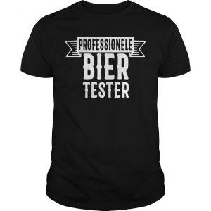 Professionele Bier Tester Shirt